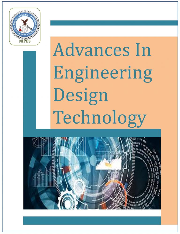 NIPES Nigerian Instition of professional engineers and scientists Advances in Engineering Design Technology Journal