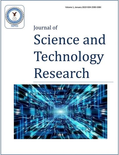 NIPES Nigerian Instition of Professional engineers and scientist journal of Science and Technology Research NJSTR NIPES